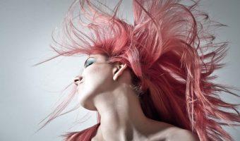 Cheveux colores